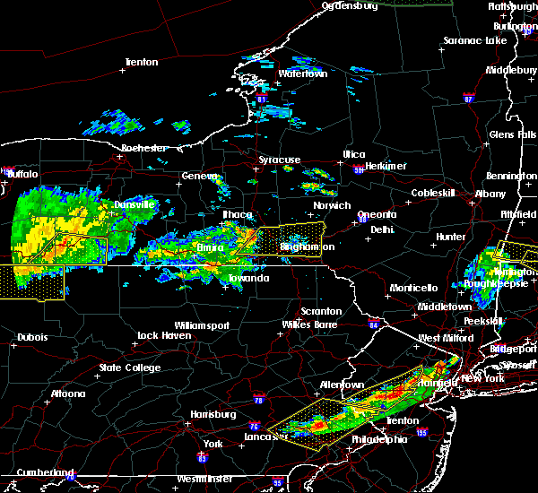 Radar Image for Severe Thunderstorms near Endicott, NY at 6/18/2018 8:23 PM EDT
