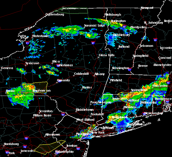 Radar Image for Severe Thunderstorms near Agawam Town, MA at 6/18/2018 8:42 PM EDT