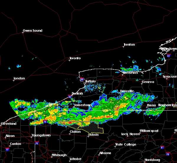 Radar Image for Severe Thunderstorms near Stannards, NY at 6/18/2018 9:02 PM EDT