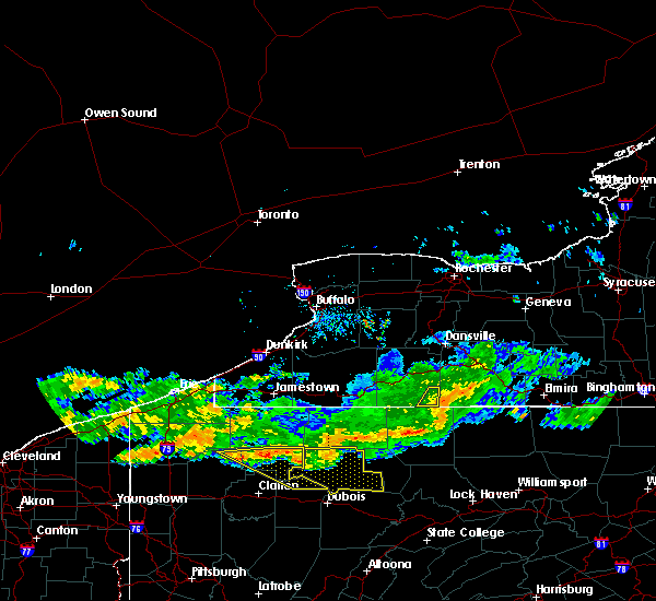 Radar Image for Severe Thunderstorms near Stannards, NY at 6/18/2018 9:08 PM EDT