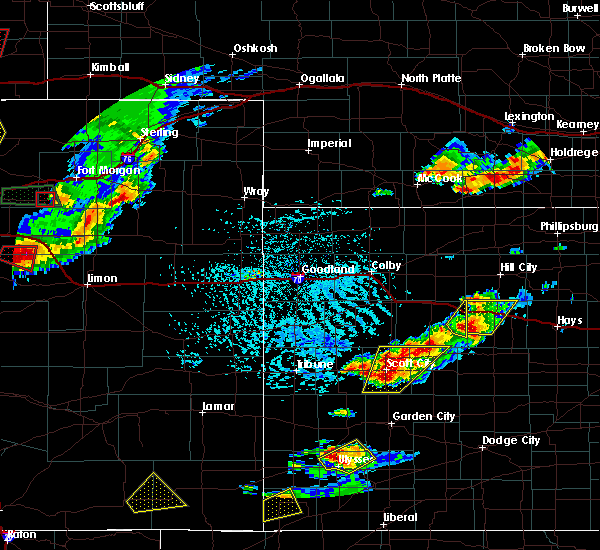 Radar Image for Severe Thunderstorms near Marienthal, KS at 6/19/2018 4:14 PM CDT
