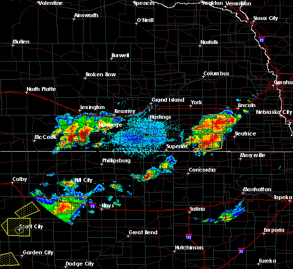 Radar Image for Severe Thunderstorms near Endicott, NE at 6/19/2018 5:03 PM CDT