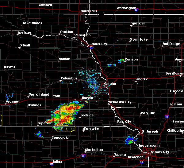 Radar Image for Severe Thunderstorms near Friend, NE at 6/19/2018 5:12 PM CDT
