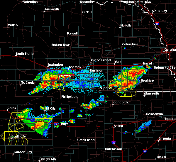 Radar Image for Severe Thunderstorms near Endicott, NE at 6/19/2018 5:24 PM CDT