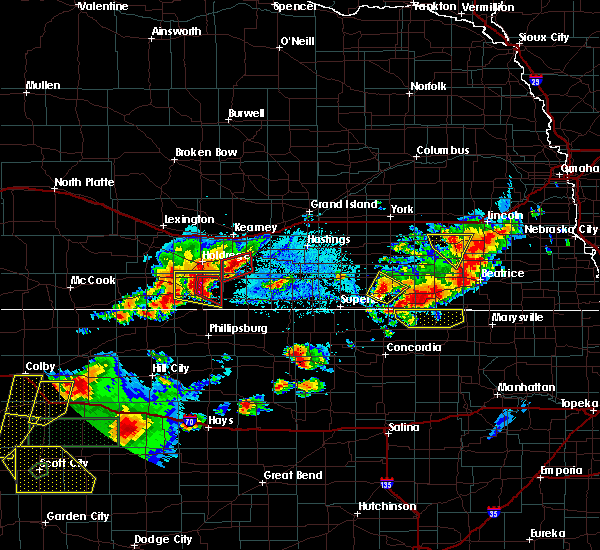 Radar Image for Severe Thunderstorms near Carleton, NE at 6/19/2018 5:44 PM CDT
