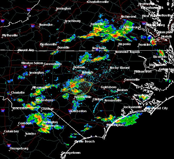 Radar Image for Severe Thunderstorms near Falcon, NC at 6/20/2018 5:03 PM EDT