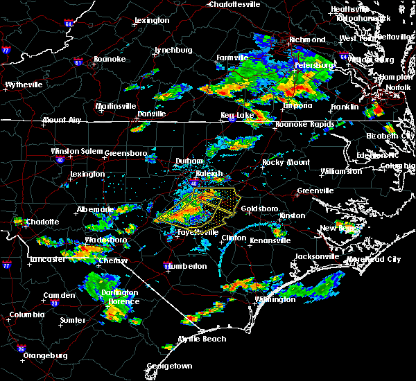 Radar Image for Severe Thunderstorms near Falcon, NC at 6/20/2018 5:31 PM EDT
