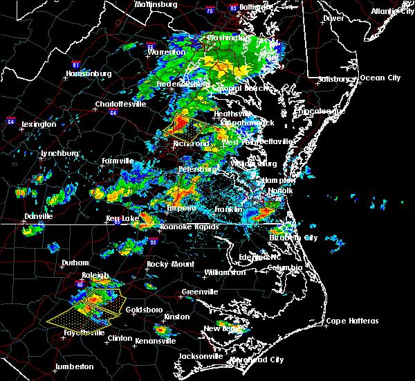 Radar Image for Severe Thunderstorms near Mechanicsville, VA at 6/20/2018 5:43 PM EDT