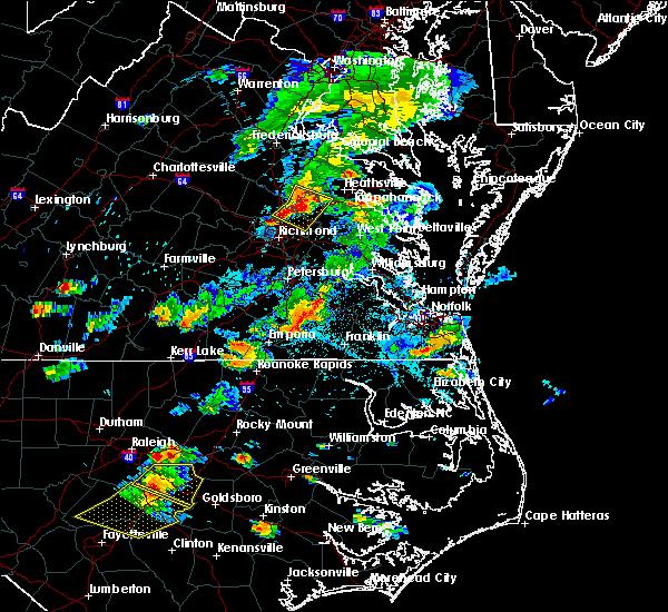 Radar Image for Severe Thunderstorms near Mechanicsville, VA at 6/20/2018 5:52 PM EDT