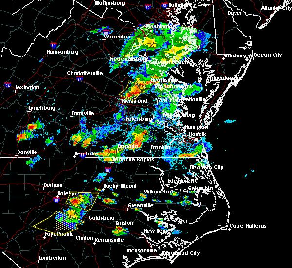 Radar Image for Severe Thunderstorms near Mechanicsville, VA at 6/20/2018 6:08 PM EDT