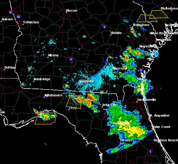 Radar Image for Severe Thunderstorms near Madison, FL at 6/20/2018 7:07 PM EDT
