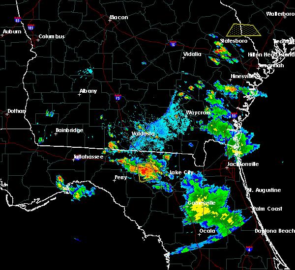 Radar Image for Severe Thunderstorms near Live Oak, FL at 6/20/2018 7:30 PM EDT