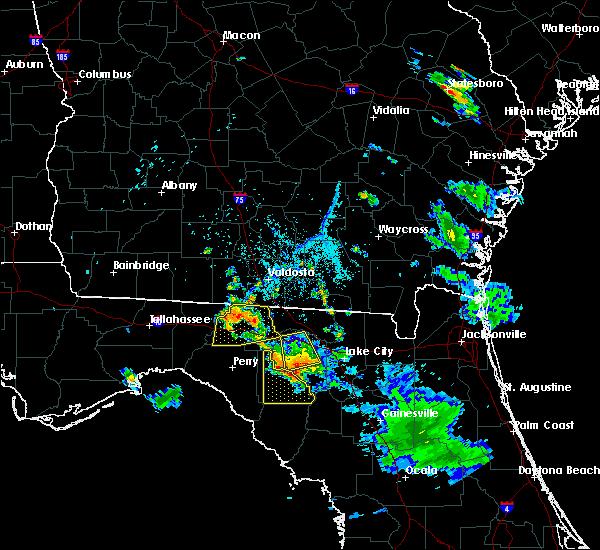 Radar Image for Severe Thunderstorms near Madison, FL at 6/20/2018 8:10 PM EDT