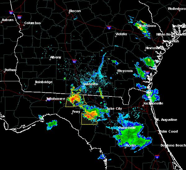 Radar Image for Severe Thunderstorms near Branford, FL at 6/20/2018 8:26 PM EDT