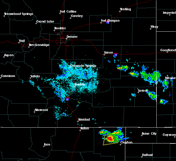 Radar Image for Severe Thunderstorms near Grenville, NM at 6/21/2018 12:38 AM MDT