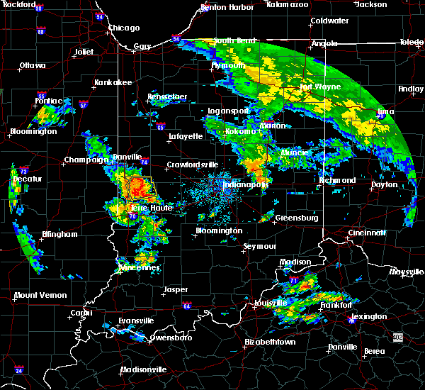 Radar Image for Severe Thunderstorms near Mecca, IN at 6/21/2018 6:56 PM EDT