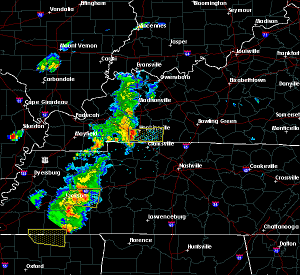 Radar Image for Severe Thunderstorms near Pembroke, KY at 6/21/2018 6:23 PM CDT