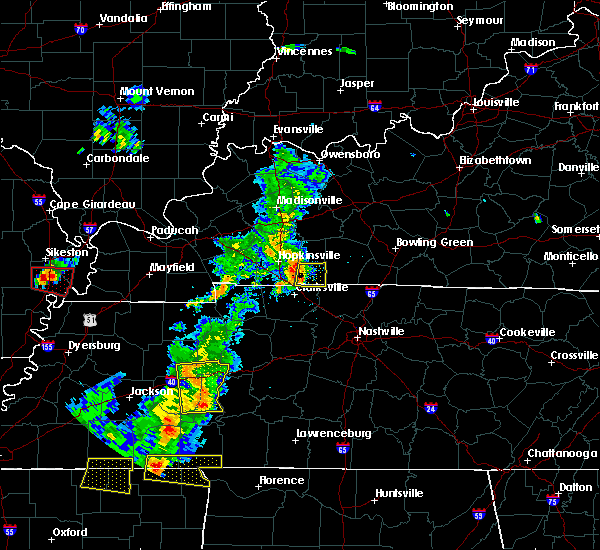 Radar Image for Severe Thunderstorms near Trenton, KY at 6/21/2018 6:50 PM CDT