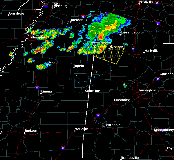 Radar Image for Severe Thunderstorms near Russellville, AL at 6/21/2018 7:48 PM CDT