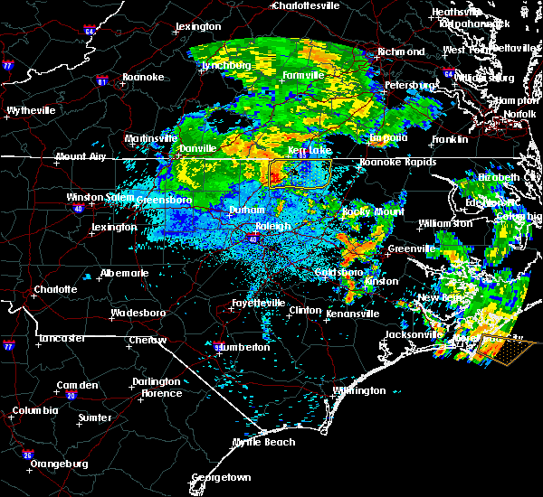 Radar Image for Severe Thunderstorms near Warrenton, NC at 6/22/2018 12:47 AM EDT