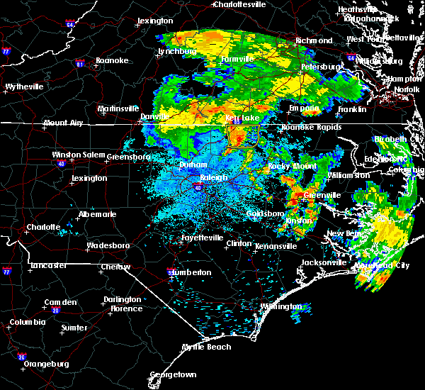 Radar Image for Severe Thunderstorms near Warrenton, NC at 6/22/2018 1:20 AM EDT