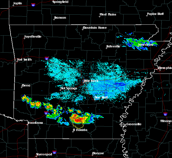 Radar Image for Severe Thunderstorms near Calion, AR at 6/22/2018 6:07 AM CDT