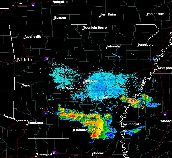 Radar Image for Severe Thunderstorms near Alligator, MS at 6/22/2018 7:52 AM CDT