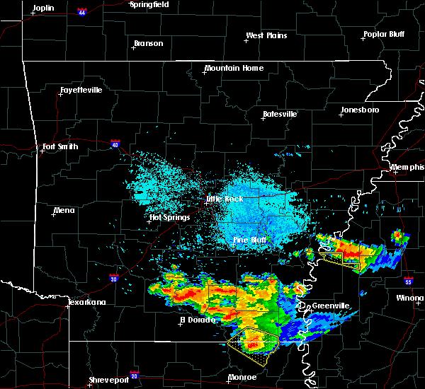 Radar Image for Severe Thunderstorms near Alligator, MS at 6/22/2018 8:25 AM CDT