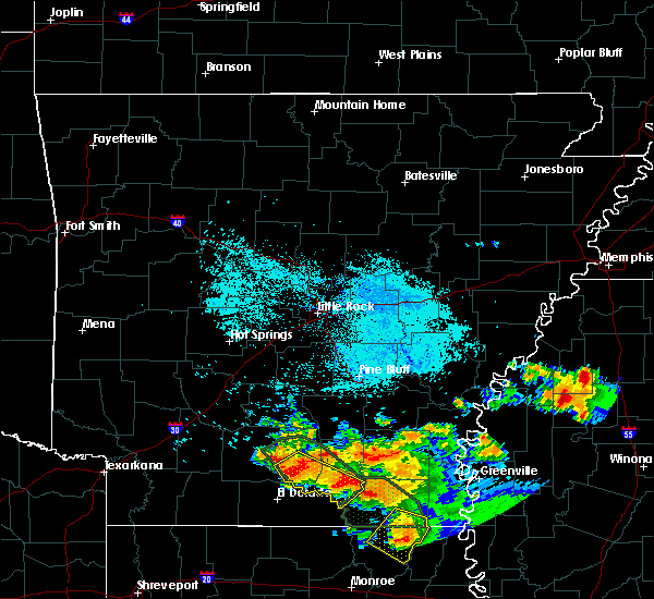Radar Image for Severe Thunderstorms near Calion, AR at 6/22/2018 8:43 AM CDT