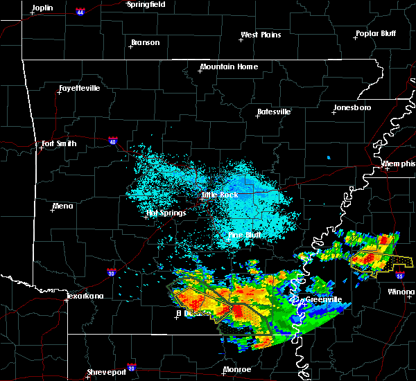 Radar Image for Severe Thunderstorms near Calion, AR at 6/22/2018 8:55 AM CDT