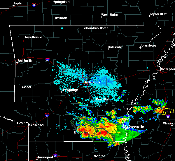 Radar Image for Severe Thunderstorms near Calion, AR at 6/22/2018 9:17 AM CDT