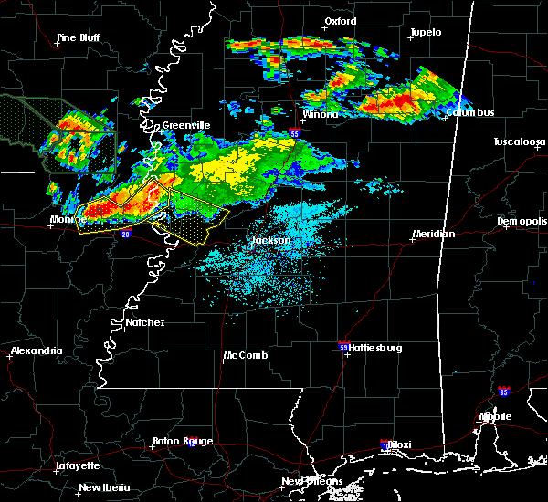 Radar Image for Severe Thunderstorms near Vicksburg, MS at 6/22/2018 11:11 AM CDT