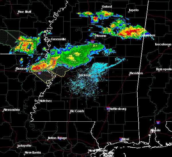 Radar Image for Severe Thunderstorms near Vicksburg, MS at 6/22/2018 11:27 AM CDT