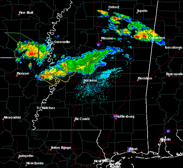 Radar Image for Severe Thunderstorms near Satartia, MS at 6/22/2018 11:48 AM CDT
