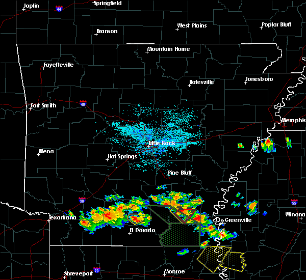 Radar Image for Severe Thunderstorms near Monticello, AR at 6/22/2018 1:40 PM CDT