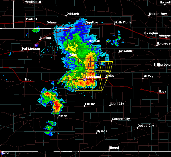 Radar Image for Severe Thunderstorms near Bird City, KS at 6/22/2018 3:52 PM CDT