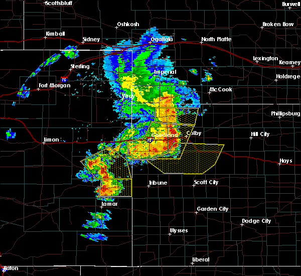 Radar Image for Severe Thunderstorms near Russell Springs, KS at 6/22/2018 4:08 PM CDT