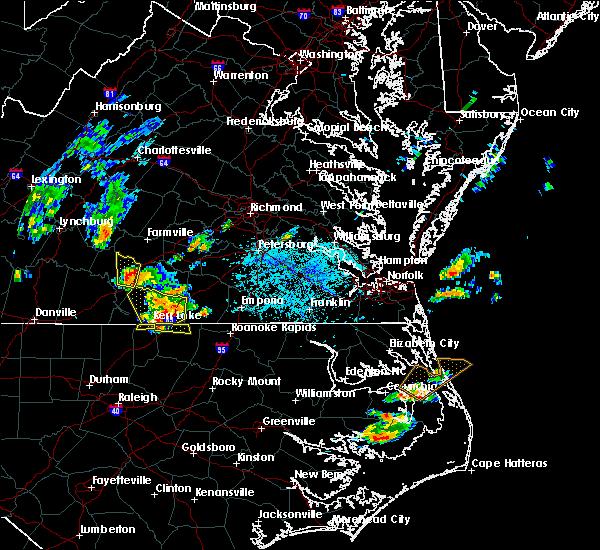 Radar Image for Severe Thunderstorms near Charlotte Court House, VA at 6/22/2018 5:18 PM EDT