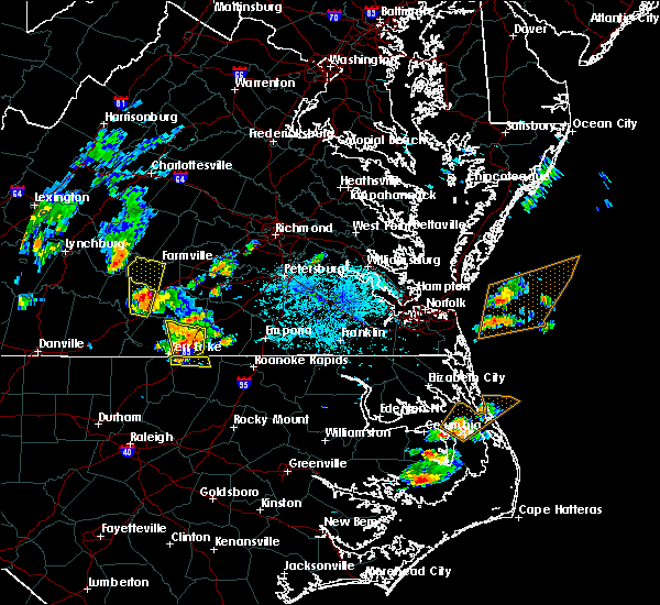 Radar Image for Severe Thunderstorms near Union Level, VA at 6/22/2018 5:24 PM EDT