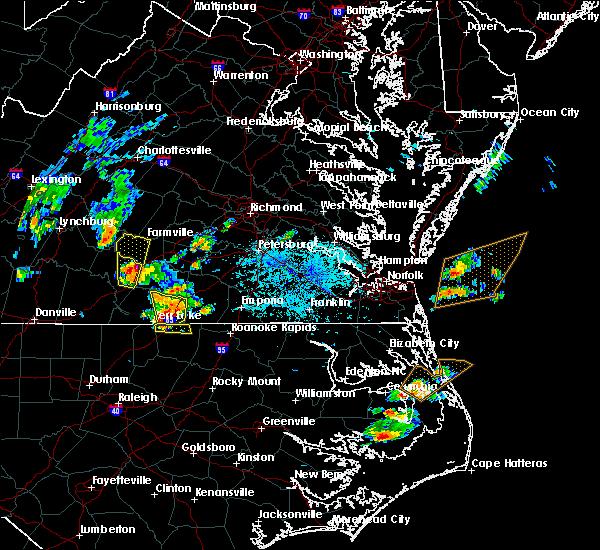 Radar Image for Severe Thunderstorms near Farmville, VA at 6/22/2018 5:24 PM EDT
