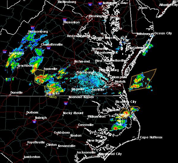 Radar Image for Severe Thunderstorms near Charlotte Court House, VA at 6/22/2018 5:33 PM EDT