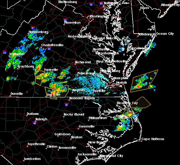 Radar Image for Severe Thunderstorms near Farmville, VA at 6/22/2018 5:46 PM EDT