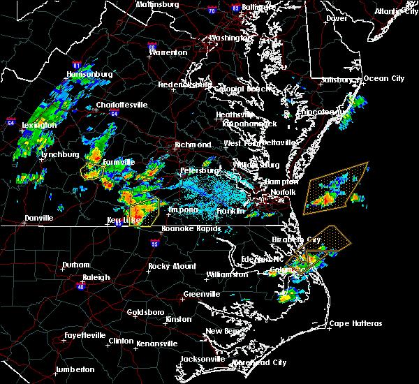 Radar Image for Severe Thunderstorms near Farmville, VA at 6/22/2018 5:59 PM EDT