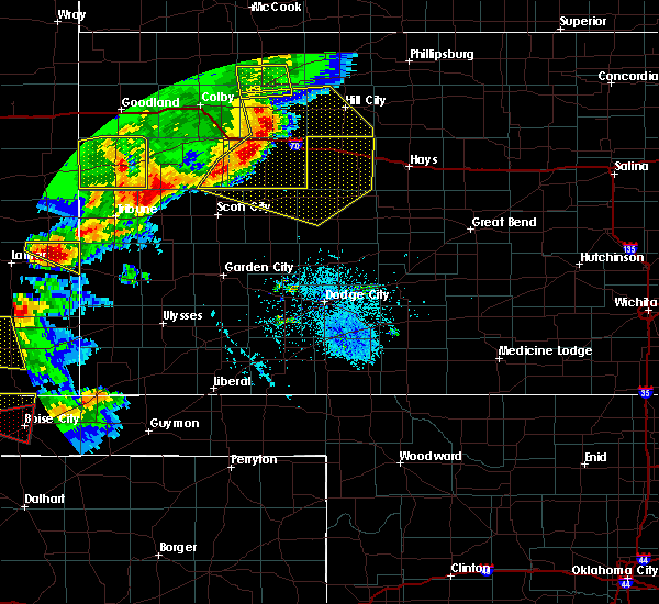 Radar Image for Severe Thunderstorms near Utica, KS at 6/22/2018 5:02 PM CDT
