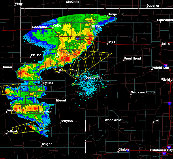 Radar Image for Severe Thunderstorms near Jetmore, KS at 6/22/2018 5:49 PM CDT