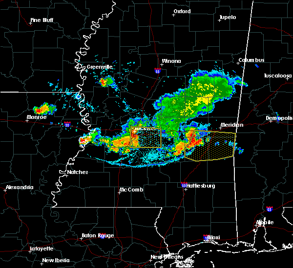 Radar Image for Severe Thunderstorms near Heidelberg, MS at 6/22/2018 6:37 PM CDT