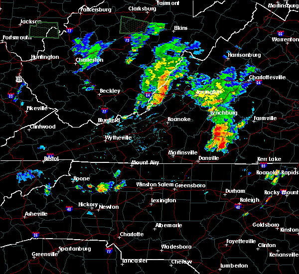 Radar Image for Severe Thunderstorms near Mountain Road, VA at 6/22/2018 8:21 PM EDT