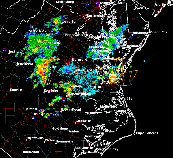 Radar Image for Severe Thunderstorms near Victoria, VA at 6/22/2018 9:33 PM EDT