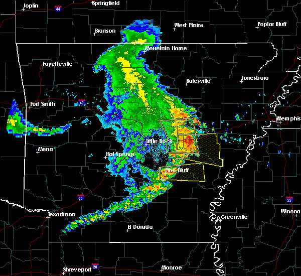Radar Image for Severe Thunderstorms near White Hall, AR at 6/23/2018 6:15 AM CDT