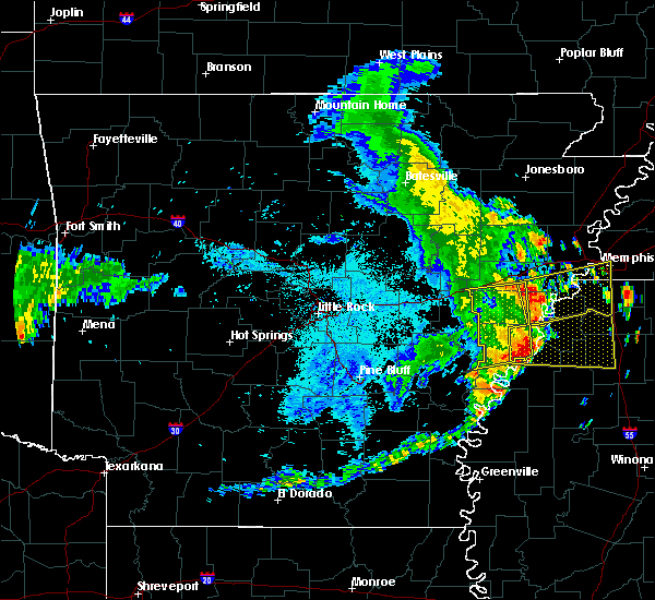 Radar Image for Severe Thunderstorms near Rondo, AR at 6/23/2018 7:28 AM CDT
